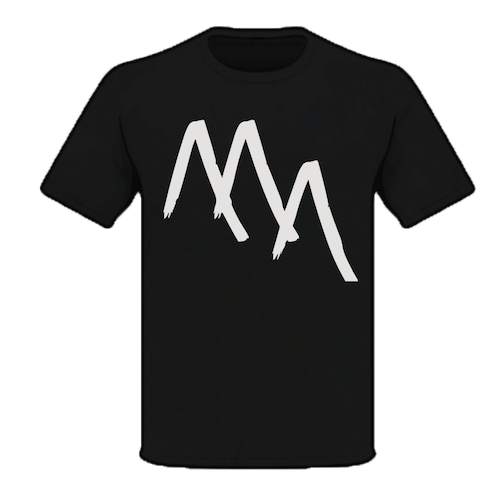 3 Peaks: Maybe Neverland Logo T-shirt