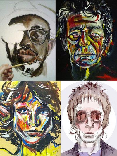 Examples of Edie Lawrence's Artwork