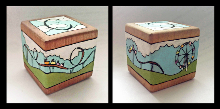 Special Limited Edition Handcrafted Coaster Block