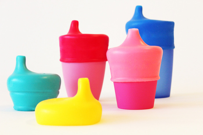 SipSnap TOT has a durable, chew-resistant spout for little ones to drink from.