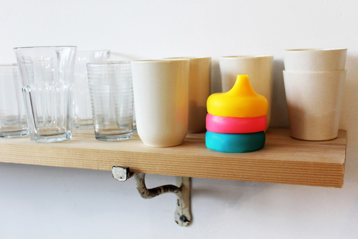 Now that's smart storage!  6 SipSnaps use the footprint of 1 cup in your kitchen.  You can even store them in a utensil drawer.