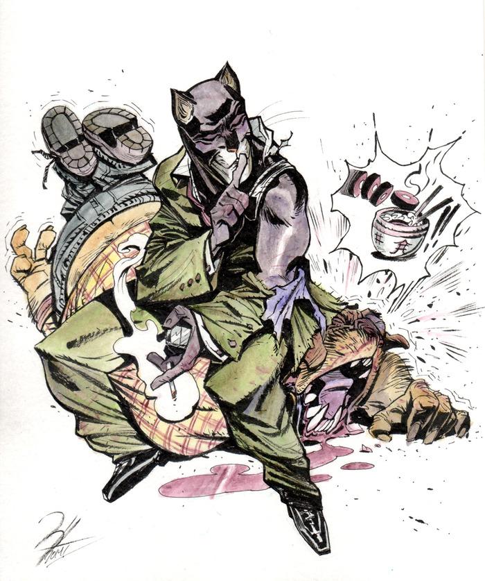 Artwork by Enrique Fernandez (for Reward)