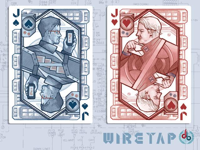 Edward Snowden and Julian Assange