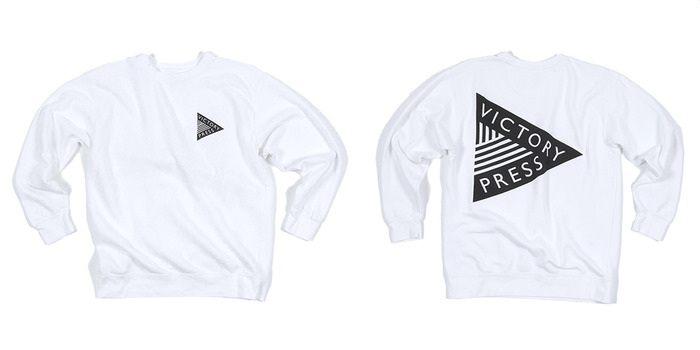 Crew Neck Logo Sweatshirt ($50)