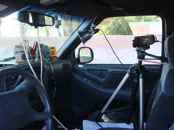 Reliable co-pilot, recording the data
