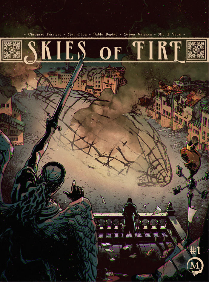 Cover for Skies of Fire #1