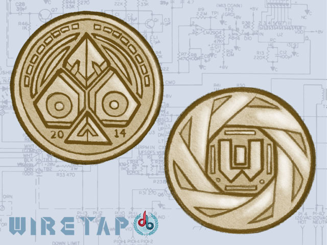 Early Prototype of the Coin Faces