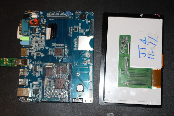 LCD and Board