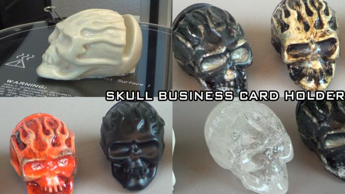 The Skull Business Card Holder!