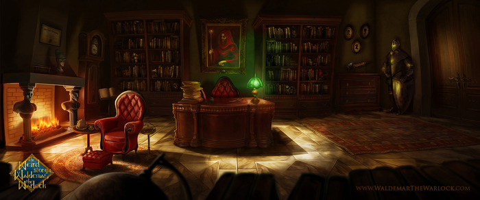 Lord Alistair's Study