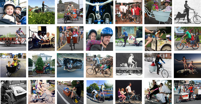 The passion of the online cargo bike community was palpable.