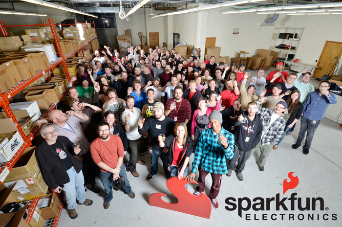 The AWESOME SparkFun team!