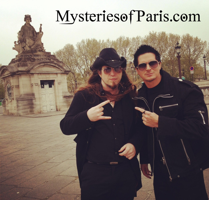 Father Sebastiaan with Zak Bagans of Ghost Adventure on the location for Netherworld (April 5th 2014)