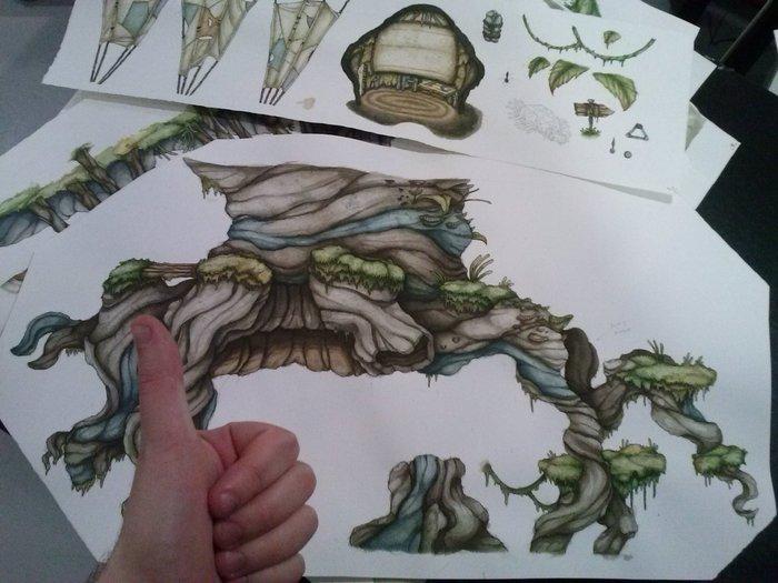 Hand + made = Handmade! (sort of)