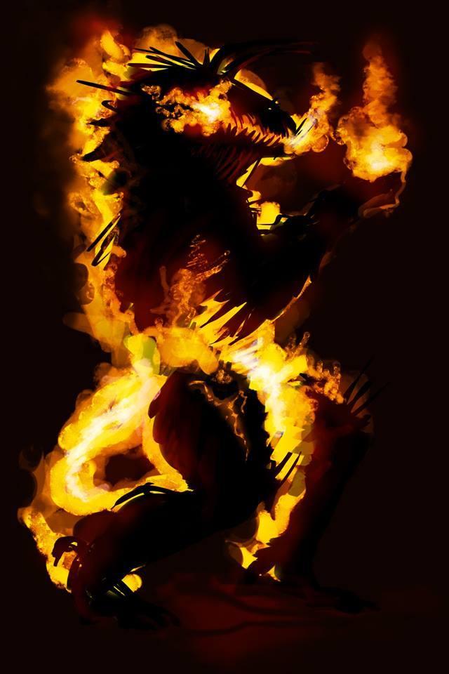 Nether Demon Concept by Justyna Bzdoń