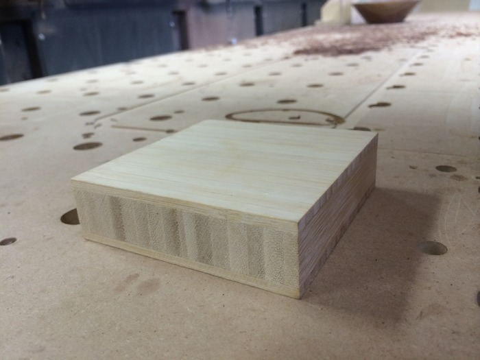 Blank ready to be CNC milled