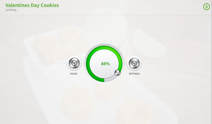 We're designing clean layouts on the user interface to keep Foodini easy to use.