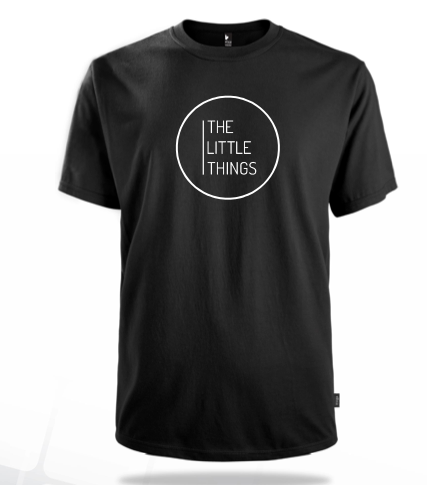 The Little Things Movie logo Black T-shirt