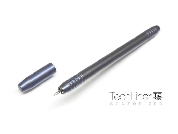TechLiner -- Gonzodized by Brad Martin
