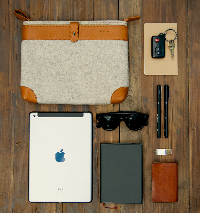 Sleeve with Daily Essentials