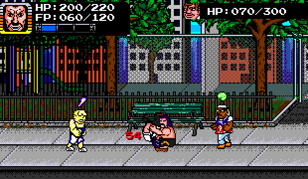 BEATDOWN IN THE PARK