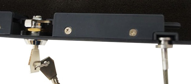 Triple Locking Mechanism