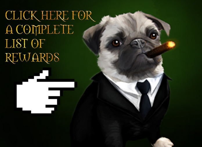 Pledge over $100 to have Mr. Pug as a pet!