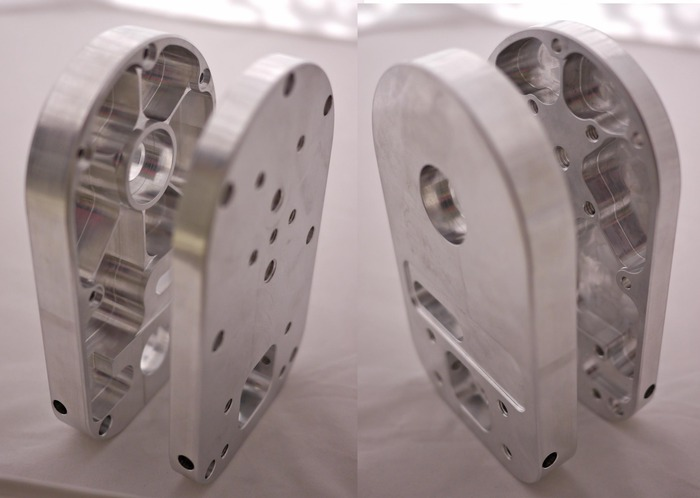 First Machined Aluminum Stage R Core