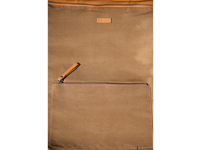 Premium Interior Lining with Zipper Pocket