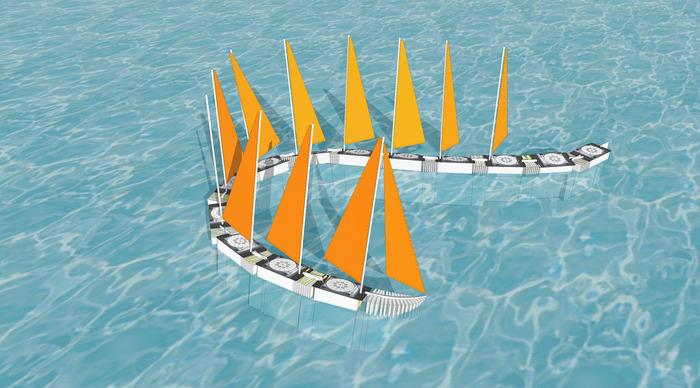 "Protei ""aquatic wind train"""
