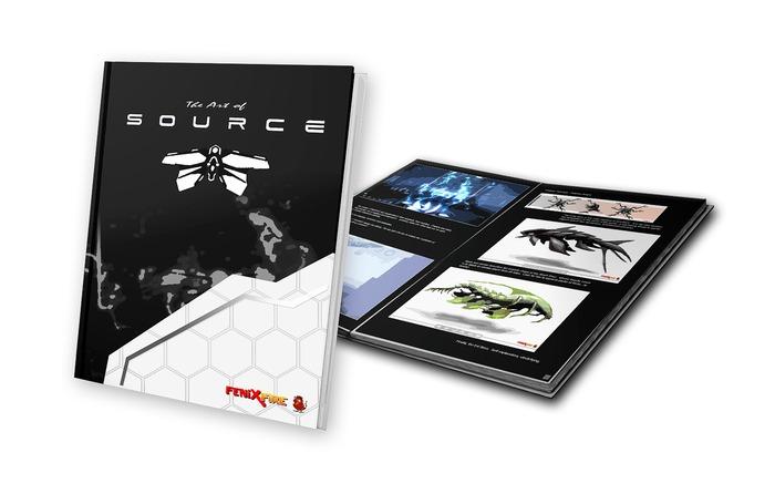Ultra Premium Glossy Hardcover 'Art Of Source' Book