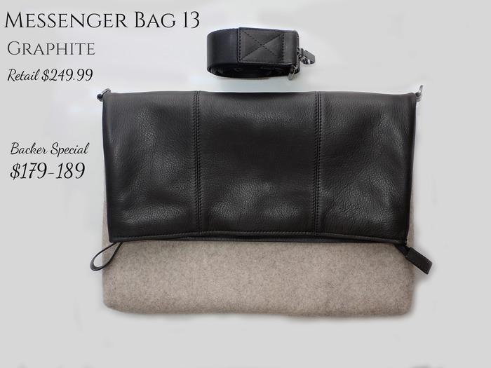 Messenger Bag 13 Graphite