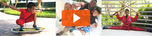 ENJOY the MUSIC VIDEO with Ricky Waters' Junior!