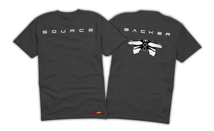 Exclusive Source Kickstarter Backer T Shirt (not final design)