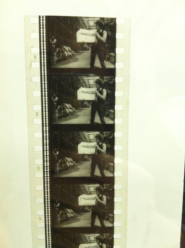 Original DONT LOOK BACK Cue Card Scene