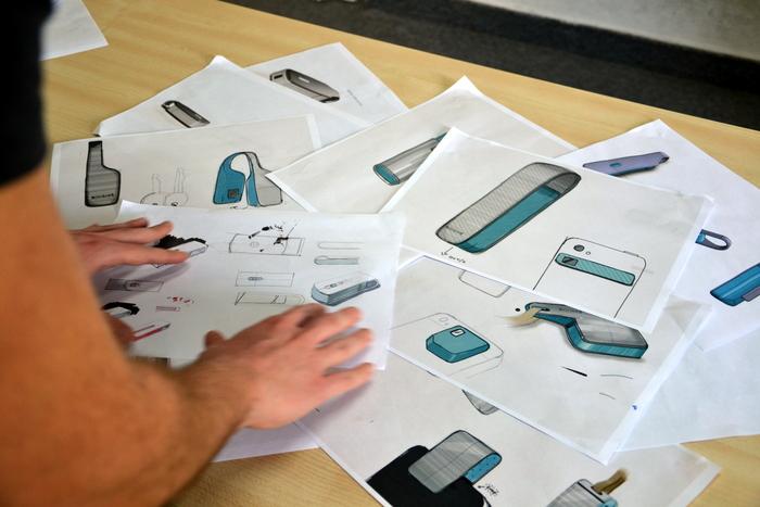 SCiO Industrial Design Brainstorming