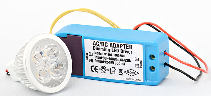 Dimming Driver and LED Bulb  - input voltage will be 100 to 240 Vac