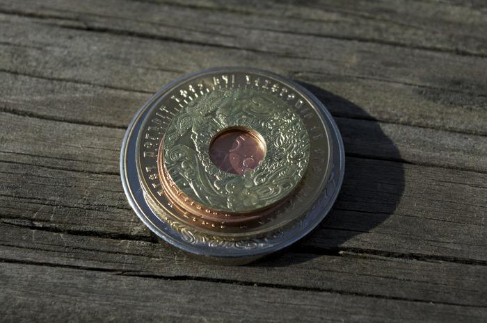 Bright shiny finish, Elemental currency