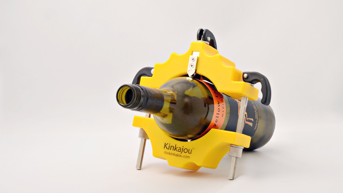 Kinkajou Bottle Cutter - Yellow Jacket Edition