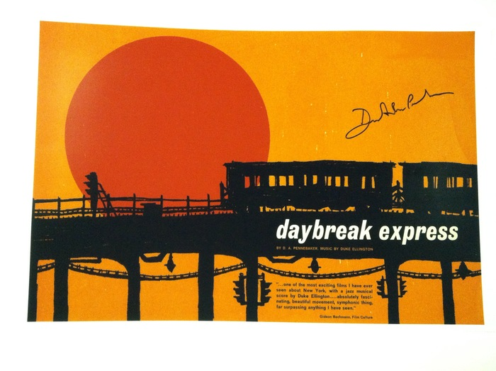 11x17 Daybreak Express Print signed by Penny