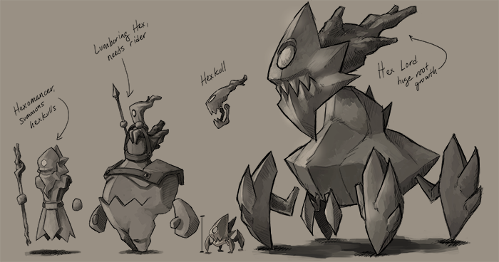 Big monster concepts