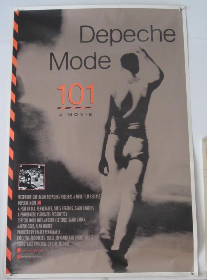 Depeche Mode 101 Poster