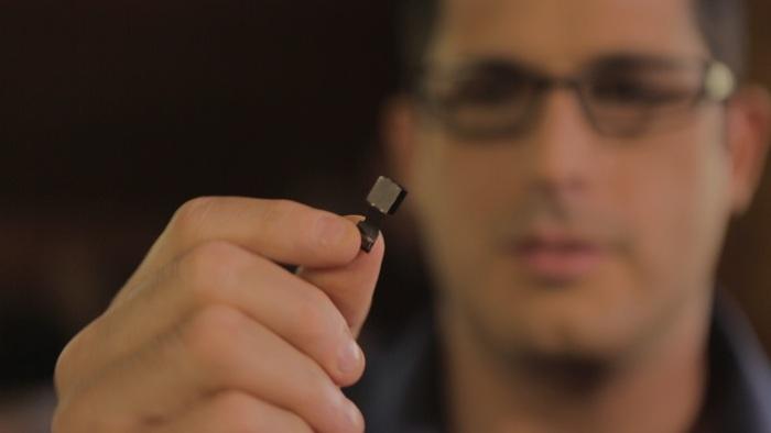 SCiO's tiny optical sensor