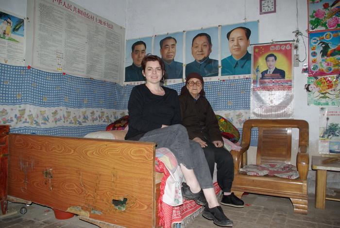Yang Jing é and Jo Farrell, 2010