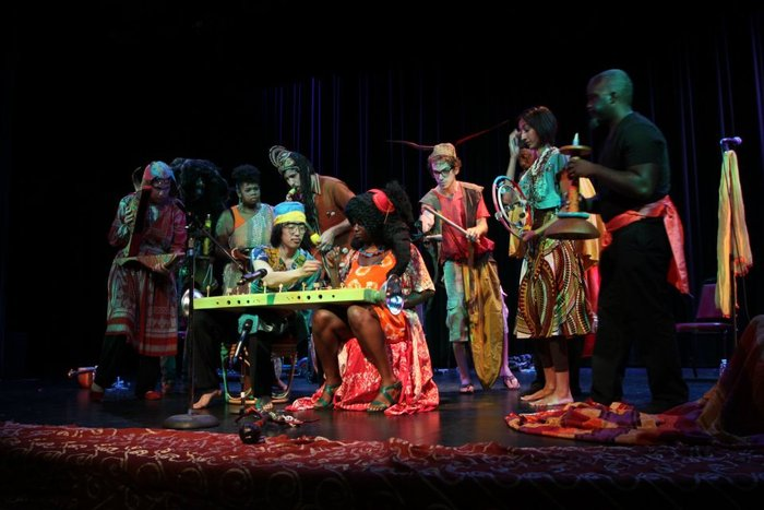 Kentfrica Is: An Ethnomusicology Perfomance during Made in LA 2012