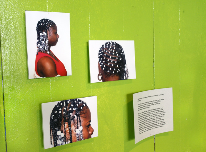 The Bebakok: Beaded Cap Hairstyle from West Kentifrica