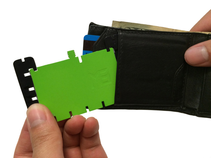 WalletM8 fits in your wallet so it's always with you when you need it