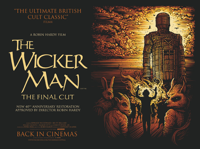 The Wicker Man by Dan Mumford.