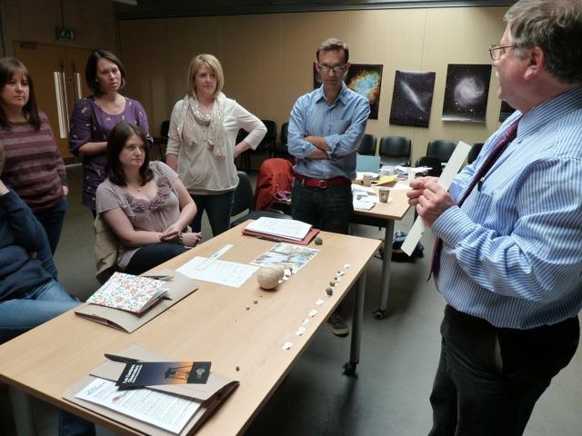 Teacher training session in the UK