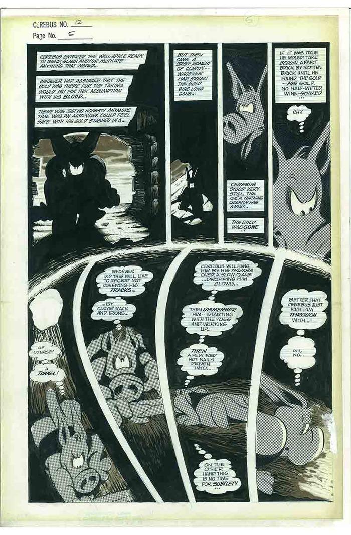7. CEREBUS No.12 page 5